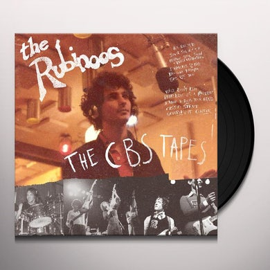 Rubinoos  CBS TAPES Vinyl Record