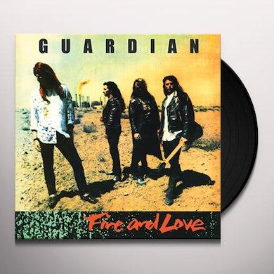 Guardian FIRE & LOVE (LEGENDS REMASTERED) Vinyl Record