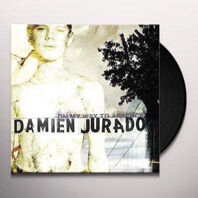 Damien Jurado ON MY WAY TO ABSENCE Vinyl Record