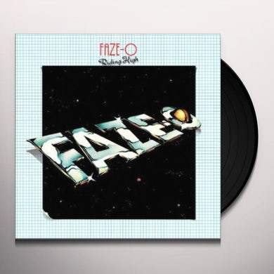 Faze-O RIDING HIGH Vinyl Record