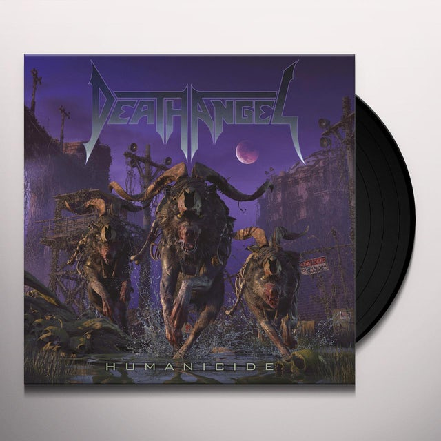Death Angel HUMANICIDE Vinyl Record