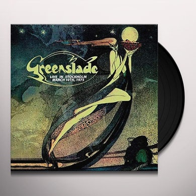Greenslade LIVE IN STOCKHOLM - MARCH 10TH 1975 Vinyl Record