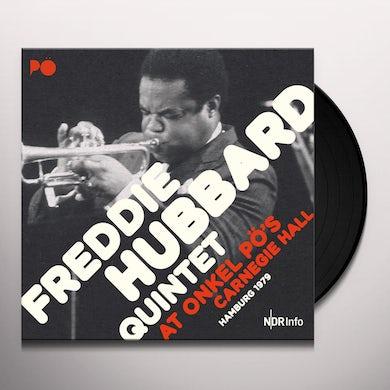 Freddie Quintet Hubbard AT ONKEL PO'S CARNEGIE HALL HAMBURG 1979 Vinyl Record