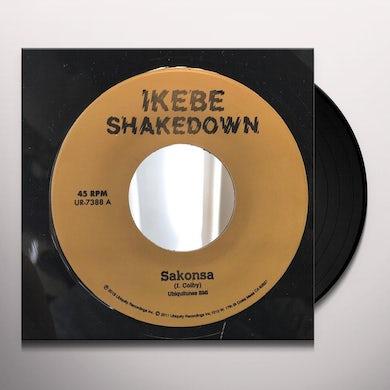 Ikebe Shakedown SAKONSA / GREEN AND BLACK Vinyl Record