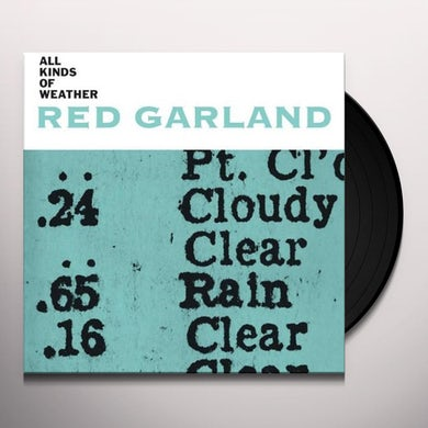 Red Garland ALL KINDS OF WEATHER Vinyl Record - Italy Release
