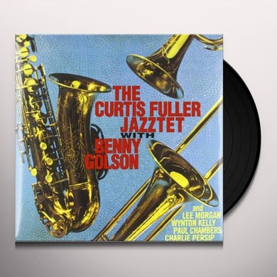 Curtis Fuller JAZZTET WITH BENNY GOLSON Vinyl Record