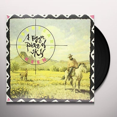 Robert Earl Keen BIGGER PIECE OF SKY Vinyl Record