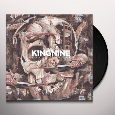 King Nine DEATH RATTLE Vinyl Record