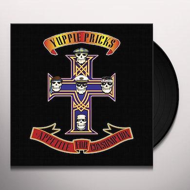 Yuppie Pricks APPETITE FOR CONSUMPTION Vinyl Record