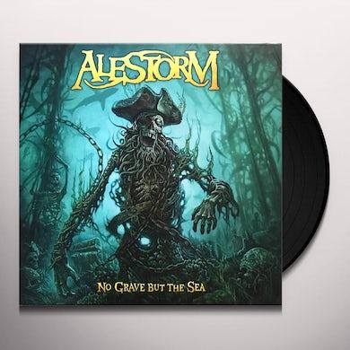 Alestorm NO GRAVE BUT THE SEA Vinyl Record