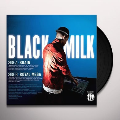 Black Milk BRAIN / ROYAL MEGA Vinyl Record