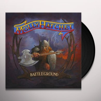 Molly Hatchet BATTLEGROUND Vinyl Record
