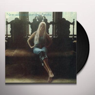 NAR EN VACKER TANKE BLIR EN SANG Vinyl Record