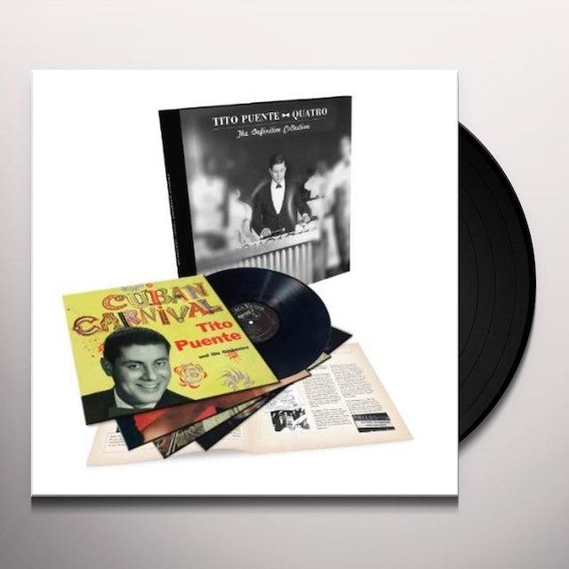 Tito Puente QUATRO: THE DEFINITIVE COLLECTION Vinyl Record