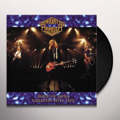 Night Ranger ROCK IN JAPAN - GREATEST HITS LIVE Vinyl Record
