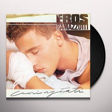 Eros Ramazzotti CUORI AGITATI Vinyl Record