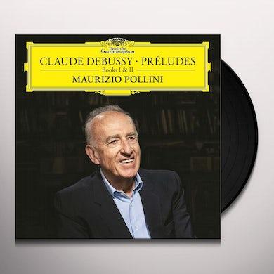 Maurizio Pollini CLAUDE DEBUSSY: PRELUDES BOOKS I AND II Vinyl Record