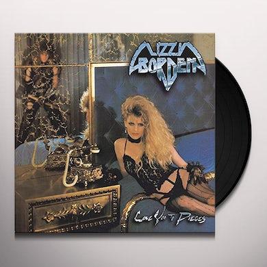 Lizzy Borden LOVE YOU TO PIECES Vinyl Record