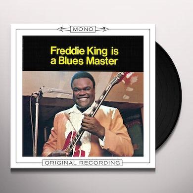 FREDDIE KING IS A BLUES MASTER Vinyl Record