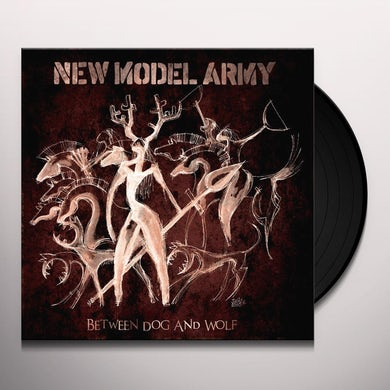 New Model Army BETWEEN DOG & WOLF Vinyl Record