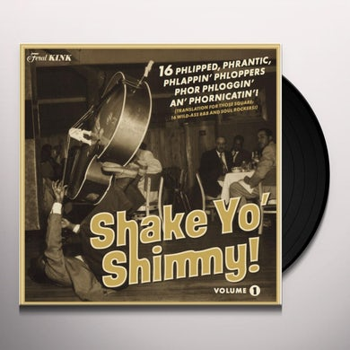 SHAKE YO' SHIMMY 1 / VARIOUS Vinyl Record