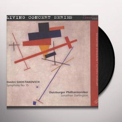 Shostakovich / Darlington / Duisburg Philharmonic SYMPHONY NO 15 Vinyl Record