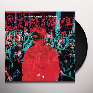 Enzo Siragusa DECADE OF RAVE Vinyl Record