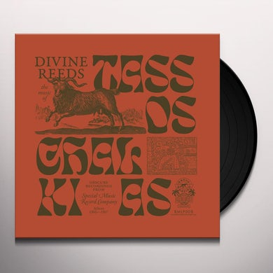 Tassos Chalkias DIVINE REEDS Vinyl Record