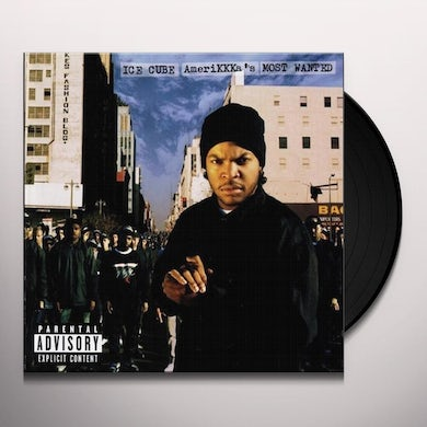 Ice Cube AMERIKKKA'S MOST WANTED Vinyl Record - UK Release