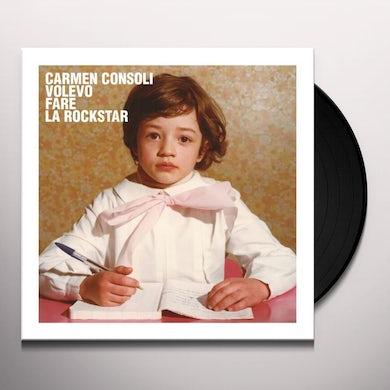 VOLEVO FARE LA ROCKSTAR Vinyl Record