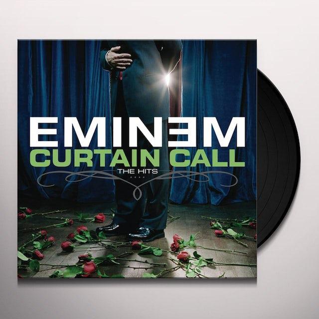 Eminem CURTAIN CALL: THE HITS Vinyl Record