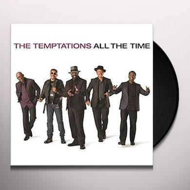 The Temptations ALL THE TIME Vinyl Record