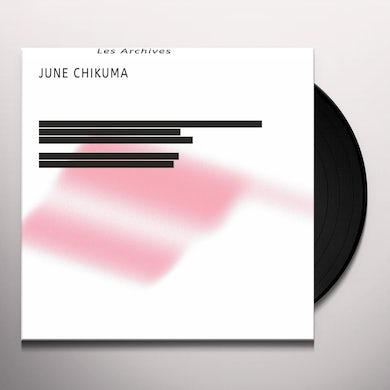 June Chikuma LES ARCHIVES Vinyl Record