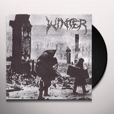 Winter INTO THE DARKNESS Vinyl Record
