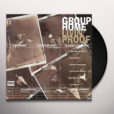 Group Home LIVIN' PROOF Vinyl Record