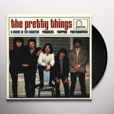 The Pretty Things HOUSE IN THE COUNTRY Vinyl Record
