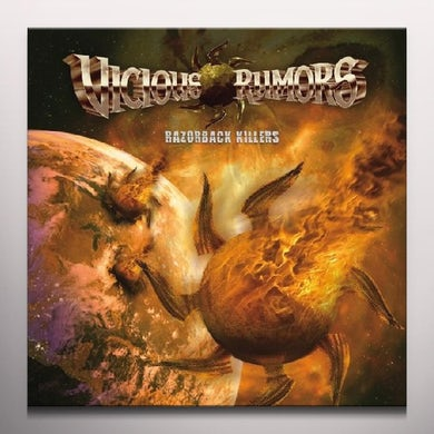Vicious Rumors RAZORBACK KILLERS Vinyl Record
