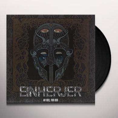 Einherjer AV OSS FOR OSS Vinyl Record - UK Release