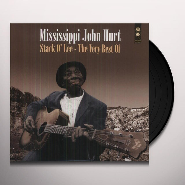 Mississippi John Hurt STACK O'LEE: THE VERY BEST OF Vinyl Record
