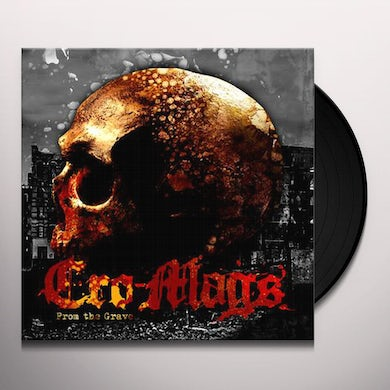 Cro-Mags FROM THE GRAVE Vinyl Record