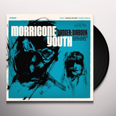 Morricone Youth DANGER: DIABOLIK Vinyl Record