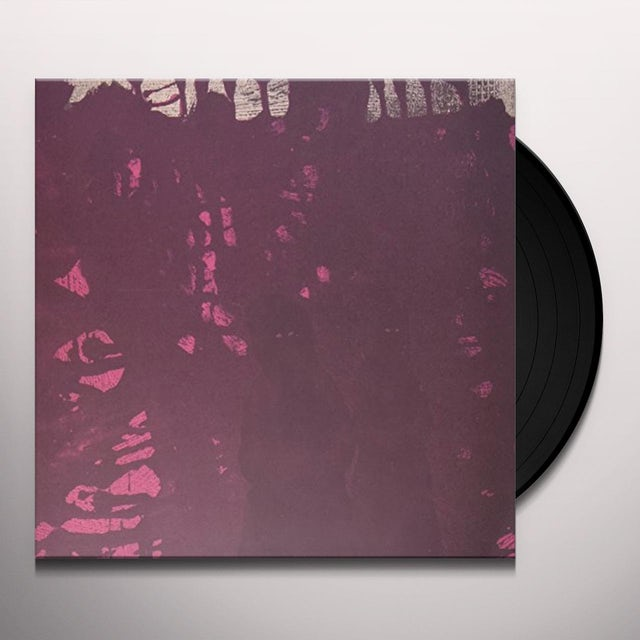 Pinkish Black Vinyl Record