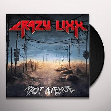 Crazy Lixx RIOT AVENUE Vinyl Record