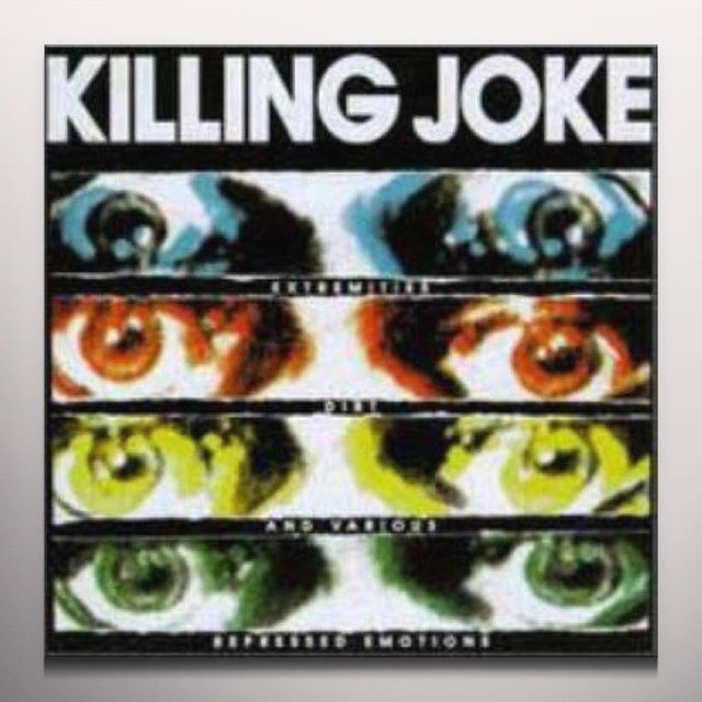 Killing Joke EXTREMITIES DIRT & Vinyl Record - Blue Vinyl, UK Release