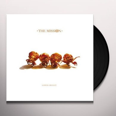 The Mission GOD IS A BULLET Vinyl Record - Limited Edition