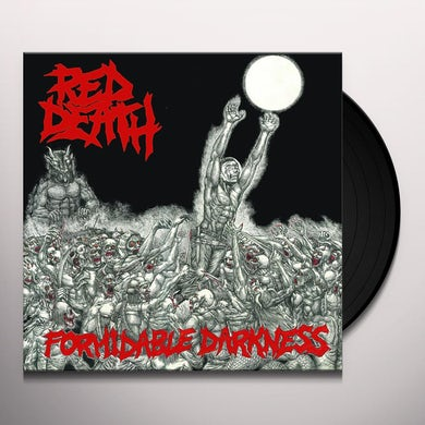 Red Death FORMIDABLE DARKNESS Vinyl Record