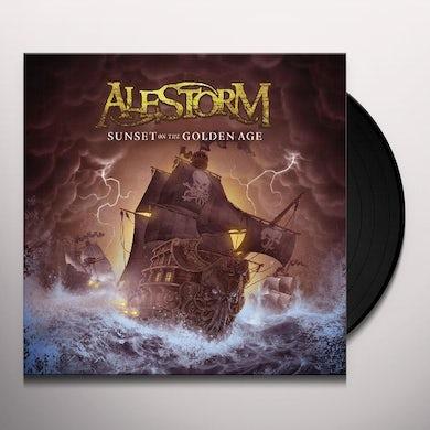 Alestorm SUNSET ON THE GOLDEN AGE (UK) (Vinyl)