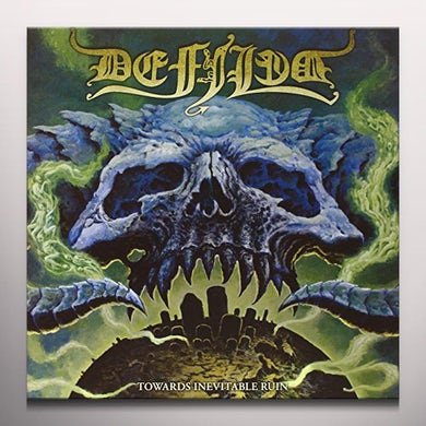 Defiled TOWARDS INEVITABLE RUIN (GREEN VINYL) Vinyl Record