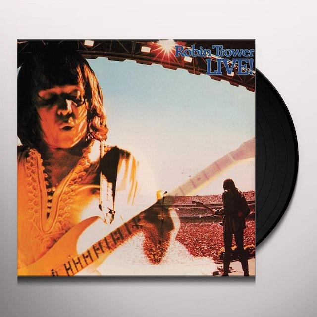 Robin Trower LIVE Vinyl Record