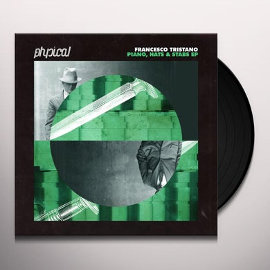 Francesco Tristano PIANO HATS & STABS Vinyl Record